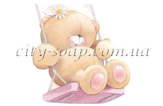 Картинка на водорастворимой бумаге, Медведи 03005: медведи - 1 | city-soap.com.ua