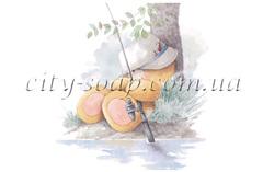 Картинка на водорастворимой бумаге, Медведи 03008