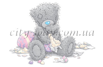 Картинка на водорастворимой бумаге, Медведи 03014: медведи - 1 | city-soap.com.ua