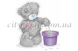 Картинка на водорастворимой бумаге, Медведи 03019: медведи - 1 | city-soap.com.ua