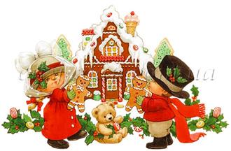 Картинка на водорастворимой бумаге, Дети 06006: новый год и зима - 1 | city-soap.com.ua