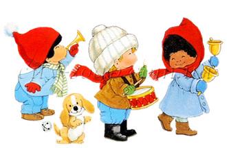 Картинка на водорастворимой бумаге, Дети 06008: новый год и зима - 1 | city-soap.com.ua