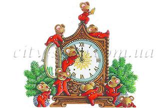 Картинка на водорастворимой бумаге, Дети 06011: новый год и зима - 1 | city-soap.com.ua
