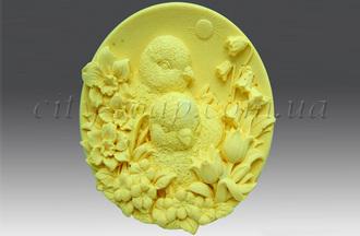 """Форма для мыла люкс """"Цыплята"""": силиконовые формы для мыла люкс - 1   city-soap.com.ua"""