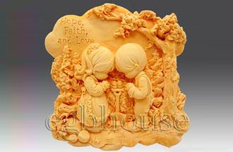 """Форма для мыла люкс """"Дети в саду"""": силиконовые формы для мыла люкс - 1   city-soap.com.ua"""
