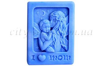 """Форма для мыла люкс """"Я люблю маму"""": силиконовые формы для мыла люкс - 1   city-soap.com.ua"""