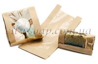Бумажный крафт-пакет с окошком