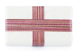 Лента полосатая коричневая: ленты и бечевка - 1 | city-soap.com.ua