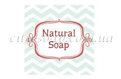 "Бирка ""Natural Soap"""