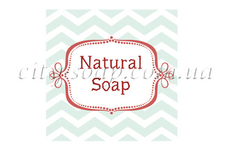 "Бирка ""Natural Soap"": бирки - 1 | city-soap.com.ua"