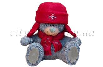 """Форма для мыла люкс """"Тедди в шапке 3D"""""""