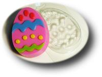 "Форма пластиковая ""Яйцо с узором №2"""