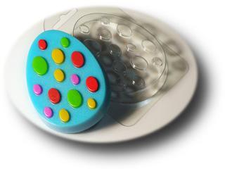 """Форма пластиковая """"Яйцо с узором №3"""": формы пластиковые для мыла - 1   city-soap.com.ua"""