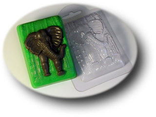 """Форма пластиковая """"Слон в джунглях"""""""