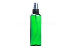 Гидролаты Флакон зеленый с черным распылителем 100 мл. | city-soap.com.ua