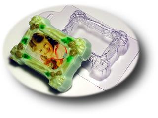"""Форма пластиковая """"Рамка — Лесная"""": формы пластиковые для мыла - 1   city-soap.com.ua"""