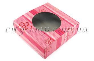 Коробочка Розовая полосочка