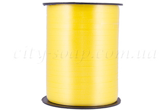 Лента пропиленовая Желтая