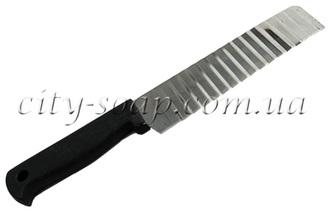 Нож ребристый большой