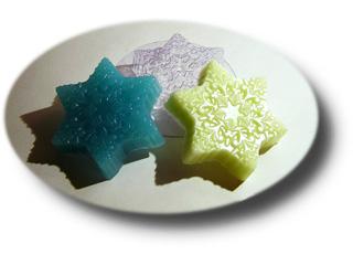 """Форма пластиковая """"Снежинка"""": формы пластиковые для мыла - 1   city-soap.com.ua"""
