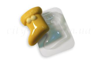 """Форма пластиковая """"Валеночек"""": формы пластиковые для мыла - 1   city-soap.com.ua"""