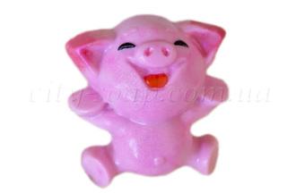 """Форма пластиковая """"Веселая свинка"""": формы пластиковые для мыла - 1   city-soap.com.ua"""
